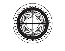 Protractor in Degrees