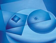 Aspherically Contoured Fresnel Lenses