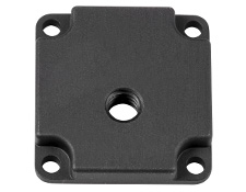 ¼-20 Mounting Adapter for IDS Imaging USB 3/GigE/PoE Camera - Rev 2, #35-088