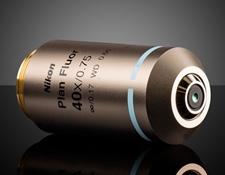 40X Objective, Nikon CFI Plan Fluor, #88-381